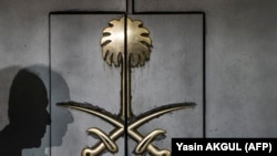 Двери саудовского консульства, 12 октября 2018 года