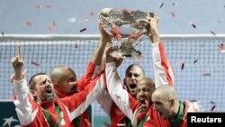 Сборная Сербии по теннису – обладатель Кубка Дэвиса 2010 года