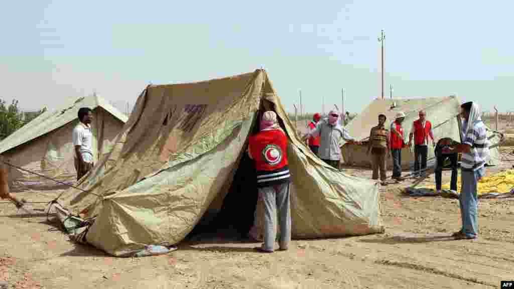 Ирак. Лагерь беженцев