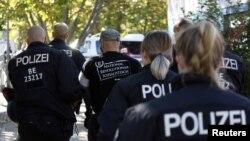 Forca të policisë gjermane - foto arkivi