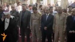 تشييع طيار عراقي قتل في حادث