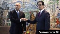 North Macedonia - Stevo Pendarovski - Bulgaria - Rumen Radev - Skopje