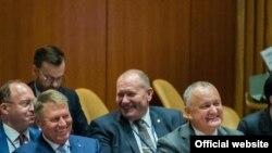 Președintele Igor Dodon și omologul român Klaus Iohannis la Adunarea Generală ONU, 25 septembrie 2019