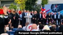 Лидер «Европейской Грузии» Давид Бакрадзе