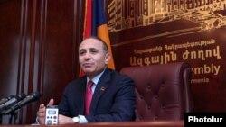 Спикер парламента Армении Овик Абрамян