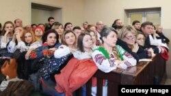 Представники української громади в Італії у суді над Марківим, Павія, 8 лютого 2019 року