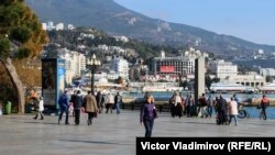 Ялта, Крым, январь 2018 год