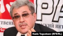 Кандидат в президенты Казахстана, депутат парламента Гани Касымов. Алматы, 12 октября 2010 года.