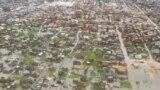 Mozambikde sil joşgunynyň yzýany, dikuçardan düşürilen surat