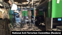 Izgled supermarketa nakon eksplozije