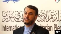 Иран сыртқы істер министрінің Африка және араб елдері бойынша орынбасары Амир Абдуллахиан. Кувейт, 30 қаңтар 2013 жыл.