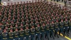 Parada militară în Piața Roșie - 9 mai 2021