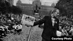 """Фото из альбома Йозефа Куделки """"Вторжение-68"""""""
