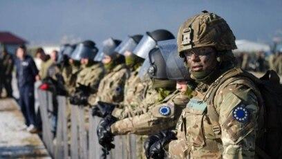 Britanski vojnici tokom vježbe EUFOR-a u oktobru 2016.