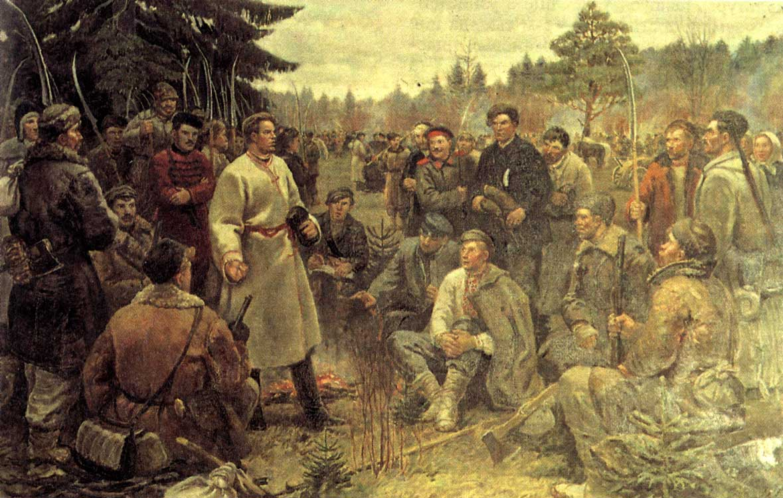 Удзельнік «студзеньскага паўстаньня» 1863 году — правобраз
