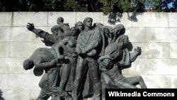 Spomenik Strijeljanje talaca u Zagrebu; autor: Frano Kršinić