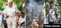 Musa Mamut Beş-Terek köy mezarlığında defn etildi