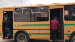 Карантин һәм лық толы автобус