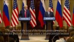 Putin Comments On North Korea, Iran
