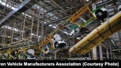 Iranian Car Industry - File photo