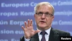 Член Еврокомиссии по экономическим проблемам Оли Рен