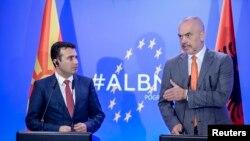 Заеднички состанок на владите на Македонија и Албанија во Поградец / Зоран Заев и Еди Рама, архивска фотографија
