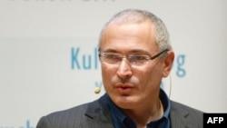 ЮКОС компаниясының бұрынғы басшысы Михаил Ходорковский.