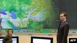 Дмитрий Медведев принимает РЛС в Калининграде