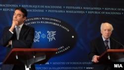 Metju Nimic i Nikola Dimitrov u Skoplju, 1. februar