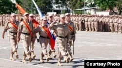 Զինվորական շքերթ Տաջիկստանում ռուսական ռազմաբազայում, արխիվ
