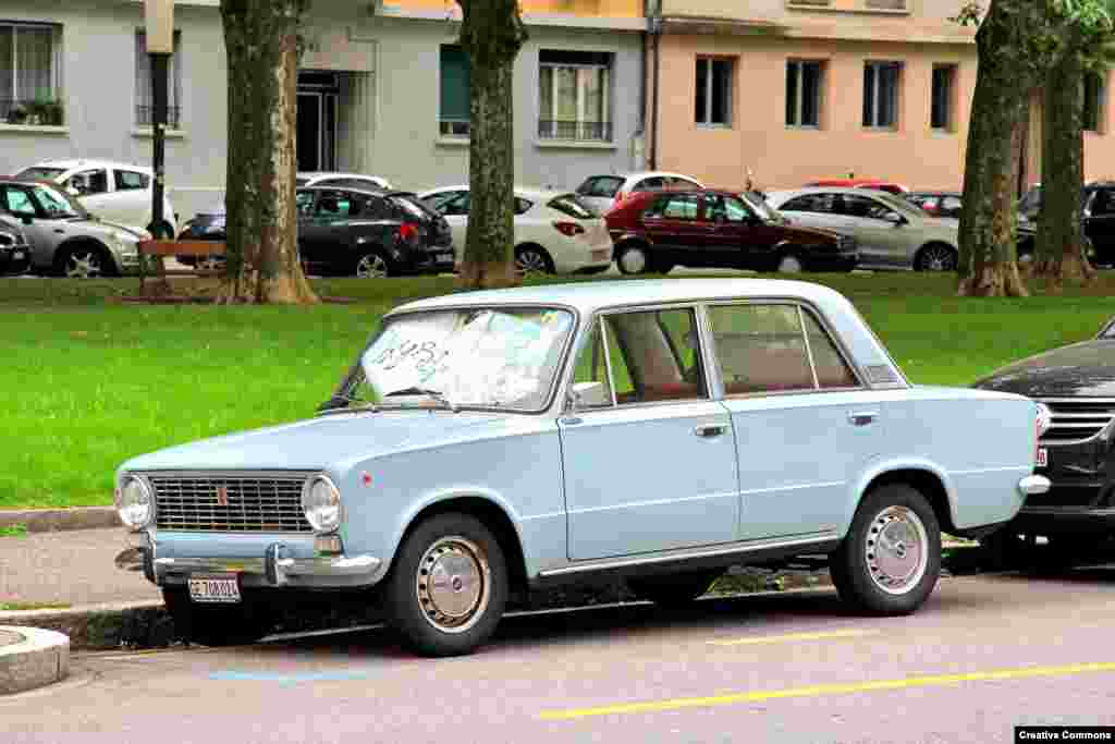 """Italy: After dropping by parachuteonto the world stage, the Fiat 124 was named the European Car Of The Year in 1966. Soon afterward, the car would be forever associated with """"the deal of the century,"""" when Fiat signed a contract with the U.S.S.R. to set up Russia's largest car factory."""