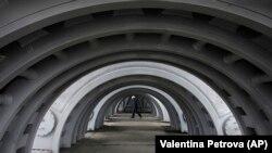 Болгариядагы курулуп бүтө элек Белене атомдук электр станциясы. 24-январь, 2013-жыл.