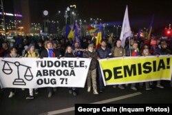 Marș în București de solidarizare cu protestul magistraților