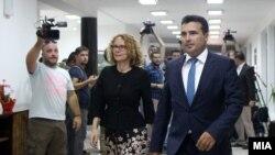Zoran Zaev uoči sastanka