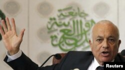 "Arab foreign ministers have agreed to send Nabil Elaraby to Damascus to push for political and economic reforms and asked Syria to end months of bloodshed ""before it's too late."""