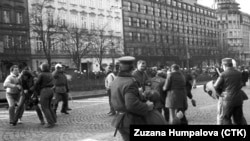 Thirty Years Ago In Prague, Student Protests Snowballed Into The Velvet Revolution