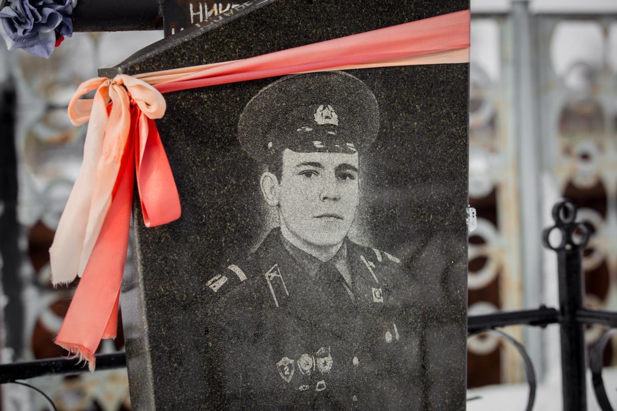 Место захоронения Николая Макаревича на кладбище в Пуховичах