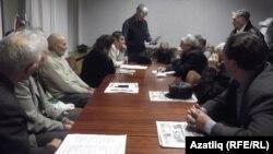 Татар иҗтимагый үзәге вәкилләре утырышы. Уфа, 12 ноябрь 2013
