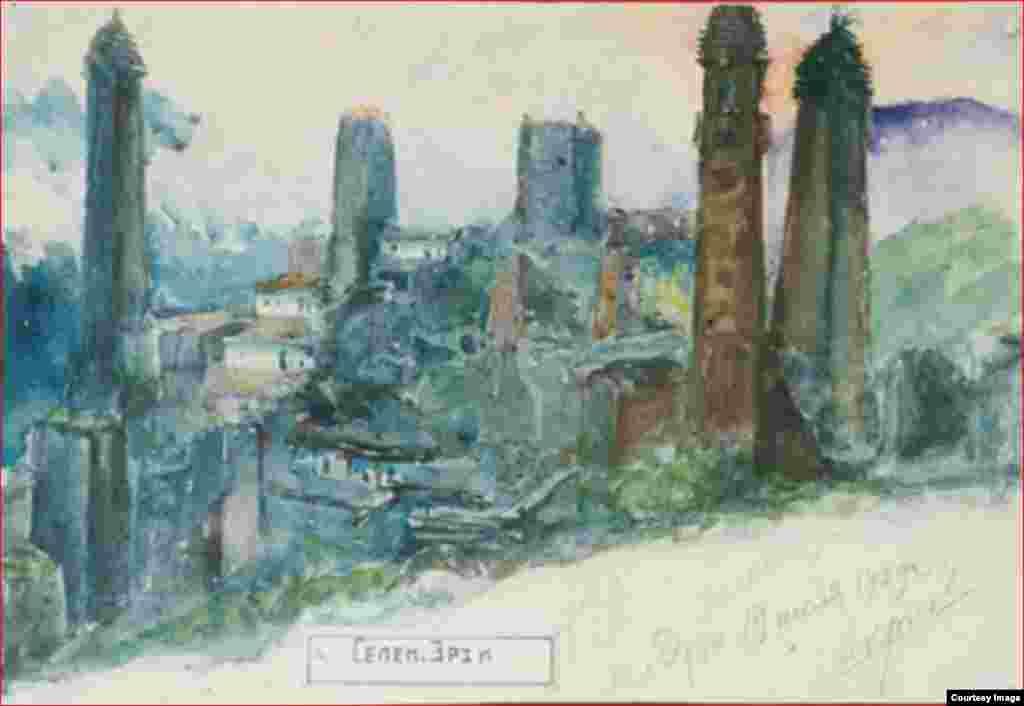 Селение Эрзи, 1929 г.