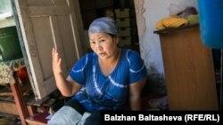 Многодетная мать Гульжахан Курбантаева, переехавшая в Казахстан из Узбекистана. Алматы, 6 июня 2016 года.