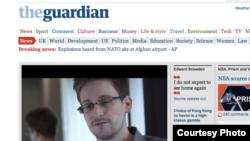 Бывший сотрудник ЦРУ Эдвард Сноуден организовал утечку данных о разведывательной деятельности США