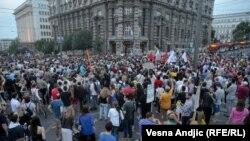 Više hiljada ljudi na protestu zbog rušenja u Savamali