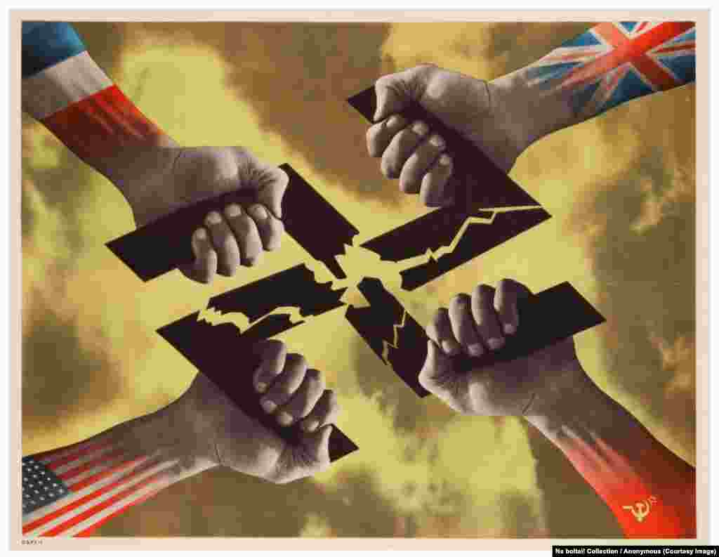 An untitled poster from 1945