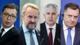 Aleksandar Vučić, Bakir Izetbegović, Dragan Čović i Milorad Dodik
