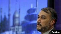 Eýranyň daşary işler ministriniň orunbasary Husseýn Amir Abdollahian