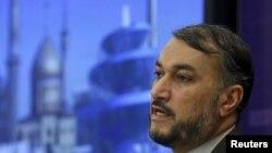 Zëvendësministri i jashtëm i Irani,Hossein Amir Abdollahian.