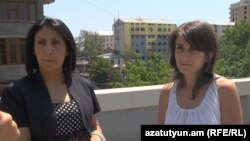 Հաշվապահները «Ազատության» հետ հարցազրույցի ժամանակ, 31-ը հուլիսի, 2014 թ․
