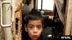 Yerevanda kasıb uşaqları