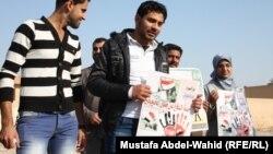 حملة سابقة للدفاع عن حقوق الخريجين في كربلاء