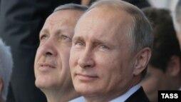 Эрдоган белән Путин Мәскәү Җәмиг мәчетен ачканда